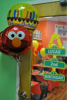 Lucas' Sesame Street Birthday