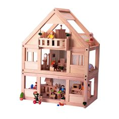 images about Doll house on Pinterest   Wooden Dollhouse    Plan Toys   My First Dolls House