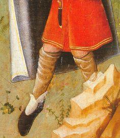 1430. Natividad, Nicolás Francés, Museo del Prado, Madrid (detalle)
