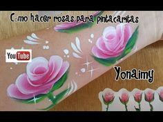 FLORES HECHAS CON PINCEL FLORA . - YouTube