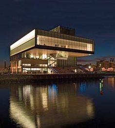 Boston Architecture : Institute of Contemporary Art by Diller+Scofidio Boston Architecture, Modern Architecture, South Boston, In Boston, Institute Of Contemporary Art, Boston Things To Do, Best Architects, New Art, New England