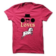 This guy loves Horses T-Shirts, Hoodies. Check Price Now ==►…