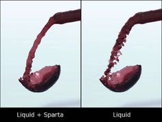 5/29/2012: WIP: Wine being poured into a glass (5 min on Sparta work) :D  1) Simulate liquid by nParticle 2) Exports BIN files 3) Edit BIN files by Sparta 4) Import BIN files as Maya Particle 5) Connect Maya Particle to nParticle 6) Polygonize liquid 7) Render liquid