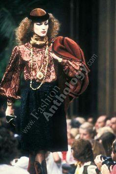Yves Saint Laurent | Fall 1981
