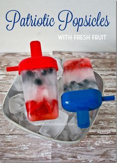Patriotic Popsicles!