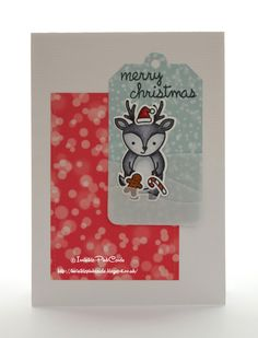 InvisiblePinkCards: First Christmas Card of the Year