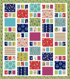 Craftsman quilt pattern by Amy Smart