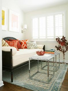 If your house is too small to meet all your needs, gear spaces for double duty: http://www.bhg.com/decorating/small-spaces/strategies/space-solution-every-room/?socsrc=bhgpin052014designsmallrooms&page=9