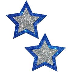 Rockstar: Blue and Silver Glitter Star Nipple Pasties by Pastease® Glitter Stars, Silver Glitter, Blue And Silver, Happy Birthday Frame, Birthday Frames, Boarders And Frames, Printable Star, Funny Caricatures, Star Background