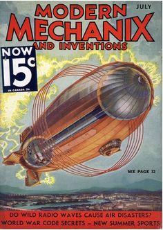 Electrostatic blimp ~ Is this a van de Graaff Zeppelin?