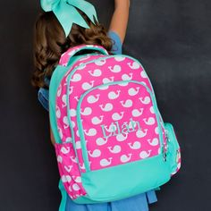 Whales Backpack – Southern Tots
