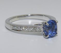 idea for creating sapphire ring