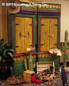 Mexican Display Mexican Halloween, Corporate Events, Event Decor, Gypsy, Scene, Display, Create, Painting, Home Decor