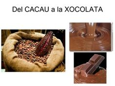 PROJECTE INTERDISCIPLINARI LA XOCOLATA Digital Magazine, Chocolate, Bakery, Bread, School, Cocoa, Blue Prints, Food, Storytelling