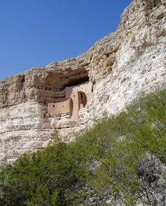 Montezuma Castle National Monument, Camp Verde, AZ.  2 hours :)