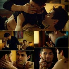 Malec& first time - Nadja Reinhold Shadowhunters Malec, Shadowhunters The Mortal Instruments, Matthew Daddario, Clary Und Jace, Magnus And Alec, Min Yoonji, Cassandra Clare Books, Alec Lightwood, The Dark Artifices