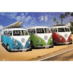 $7 Poster Campers, VW (5,99€)