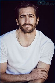 Jake Gyllenhaal photographed by Matthew Brookes for British GQ Style.