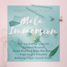We LOVE creating and sharing space together. Carrie is leading this hands-on workshop at our favorite venue in Burien! Do not hesitate to book your spot as space is L I M I T E D and is filling up. Link in bio. @travelyogibear #createsomethingmagical #malaworkshop #108beadmala #seattleyogacommunity #burienyoga #positiveenergy #whatisholdingyouback