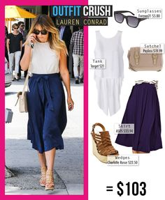 @LaurenConrad.com looking lovely for summer