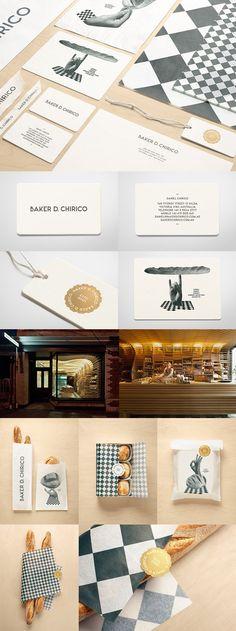 Baker D. Chirico's Minimalist Business Card