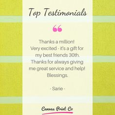 Top Testimonials from our happy customers ❤️ 🌟🌟🌟🌟🌟 Framed Prints, Canvas Prints, Very Excited, Wood Print, My Best Friend, I Am Awesome, Give It To Me, Happy, Gifts