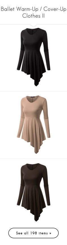 """""""Ballet Warm-Up / Cover-Up Clothes II"""" by gymholic ❤ liked on Polyvore featuring dresses, tops, tunics, shirts, tank tops, tanks, blusas, sleeveless tops, black tank and strappy tank top"""