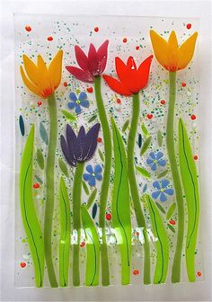 Gillian Hulse Glass The Gardens Collection