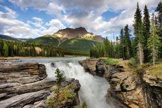 Athabasca falls HDR