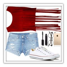 """Untitled #270"" by elsakaram ❤ liked on Polyvore featuring rag & bone/JEAN, Converse and Chanel"