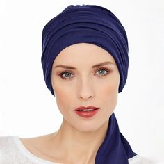Customer Review: I purchased this headwear recently and was extremely pleased with both the speed of delivery and the item. The turban is cool, soft and comfortable. In the recent hot weather I was able to wear the turban all day and still feel comfortable and cool. I will buy this again I other colours.  See the Madrid Bamboo Turban Marine from Gisela Mayer Headwear here
