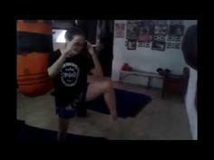 Sylvie's Tips - Kicking the Wall and Correcting Form - Muay Thai Kick - YouTube