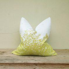 Luxurious pillow cover pillow cover Flora Green pillow by iaimshop, $35.00
