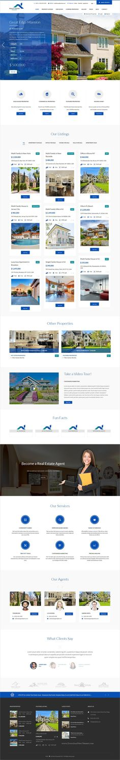 Realty house is clean and modern design responsive #WordPress theme for #realestate and #property listing website with multiple homepage layouts download now -> https://themeforest.net/item/realty-house-responsive-real-estate-wordpress-theme/19713923?ref=Datasata