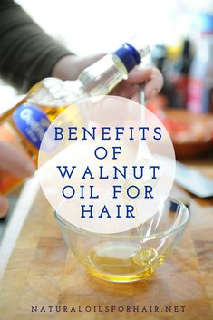 Walnut oil is another oil in the nut oil family alongside sweet almond oil, macadamia nut oil, kukui nut oil, and hazelnut oil. Walnut oil is extracted from Natural Hair Growth Tips, Natural Hair Regimen, Natural Haircare, Hair Growth Oil, Natural Hair Styles, Walnut Oil Benefits, Best Coconut Oil, Hair Care Recipes, Long Hair Tips