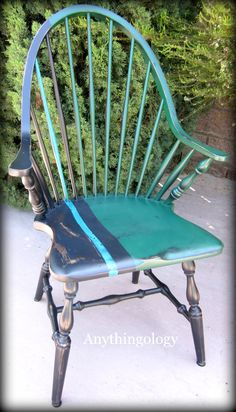 Anythingology: Windsor Chair Update