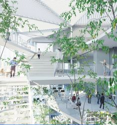 New Learning center for the polytechnique school in Paris-Saclay