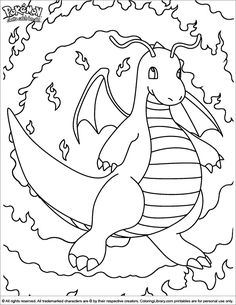 Pokemon Coloring Pages And Sheets Find Your Favorite Cartoon Picures In The Library