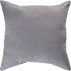 "Storm 18"""" Outdoor Pillow in Grey design by Surya"