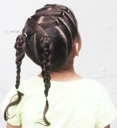 Cute Little girls' Ponytail Hairstyles - Hairstyles For All Little Girls Ponytail Hairstyles, Little Girl Ponytails, Little Girl Haircuts, Baby Girl Hairstyles, Girls Braids, Box Braids Hairstyles, Trendy Hairstyles, Toddler Hairstyles, Ponytail Ideas
