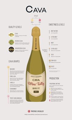 Cava Spanish Sparkling Wine Profile by Wine Folly