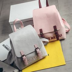Rucksack Women Backpack Sac A Dos Femme Pu Leather Backpack Letter Bear School Backpack Bags Back Pack For Teenage Girls Shop Fashion Handbags, Fashion Bags, Fashion Backpack, Korea Fashion, Women's Fashion, Ladies Fashion, Fashion Outfits, Chanel Backpack, Backpack Purse