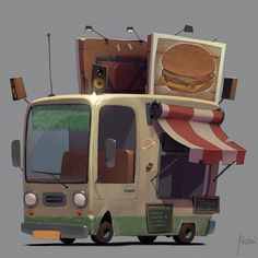 ArtStation - Cars, Aleksandr Pushai - https://www.artstation.com/artwork/RJKoO