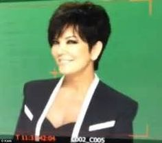 Kris Jenner Haircut Picture Back View Short Hairstyle ...