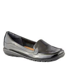 Easy Spirit Women's Abide Slip-On Loafer,Black,9 W US