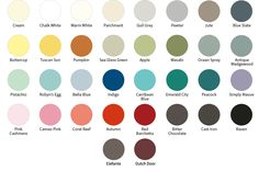 The Full FAT Palette: Chalk paints. Great as 1 colour, or distressed:-) Made in Canada, 'eh!