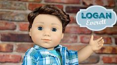 Doll TOYS Review | American Girl BOY Doll LOGAN EVERETT