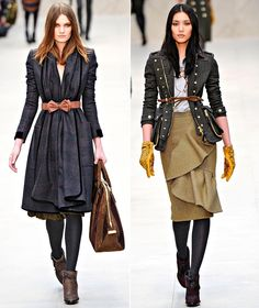 Burberry Prorsum's Fall 2012 Runway
