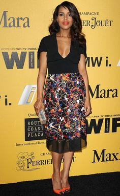 Last Night's Best Dressed Has Gowns AND Kerry Washington!