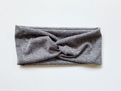 Tie Headband, Turban Headbands, Headbands For Women, Top Knot, Heather Grey, Fabric, How To Wear, Style, Fashion